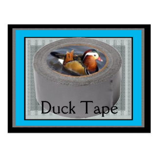 Duck tape postcard