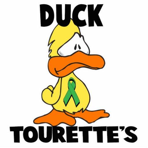 Duck Tourettes Syndrome Cut Out