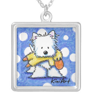 Duck Toy Westie Necklace