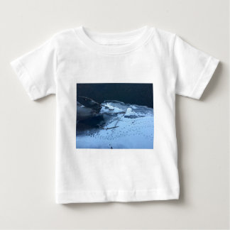 Duck Tracks In the Snow Baby T-Shirt