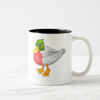 Duck Two-Tone Coffee Mug