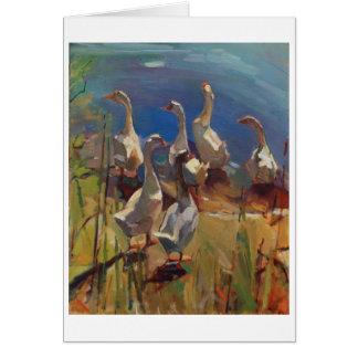 Duck Walk Card