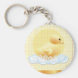 duckie-baby-shower keychain