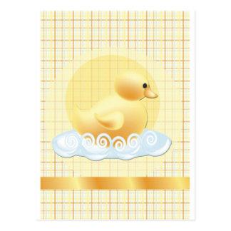 duckie-baby-shower postcard