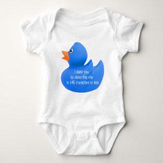 Duckie Dare Baby Bodysuit
