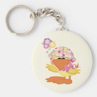 Duckie Girl Keychains