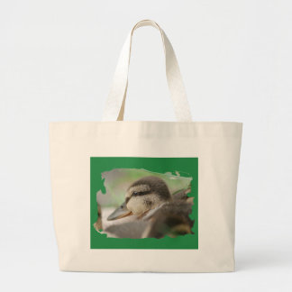 DUCKLING COLLECTION - by Jean Louis Glineur Large Tote Bag