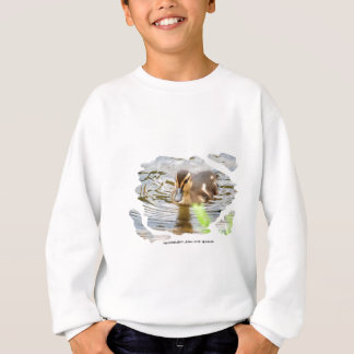 DUCKLING DUCK CHICKEN photo Jean Louis Glineur Sweatshirt