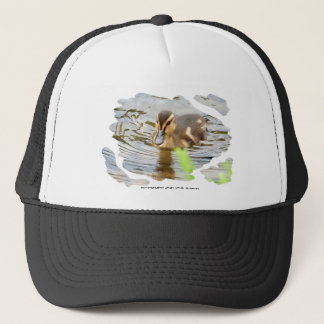 DUCKLING DUCK CHICKEN photo Jean Louis Glineur Trucker Hat