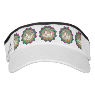 Ducklings and Flowers Visor