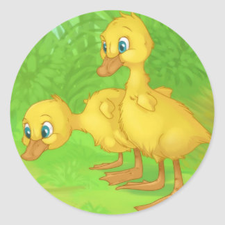Ducklings Stickers