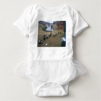 ducks baby bodysuit