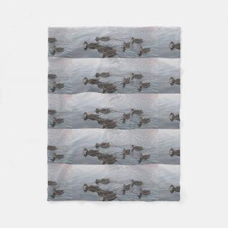 Ducks Bird Nature Landscapes Sky Destiny Destiny'S Fleece Blanket