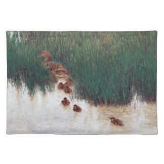 Ducks Birds Wildlife Animals Ducklings Placemat