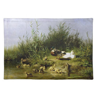 Ducks Birds Wildlife Animals Pond Placemat