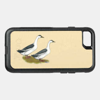 Ducks:  Blue Magpies OtterBox Commuter iPhone 7 Case