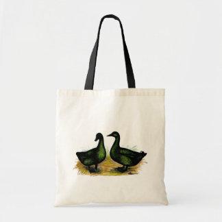 Ducks:  Cayuga Pair Budget Tote Bag