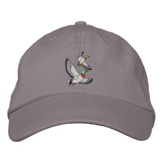 Ducks Embroidered Hat