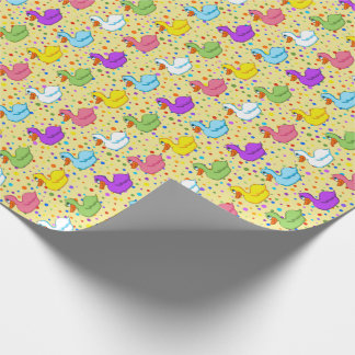 Ducks in a Row Wrapping Paper