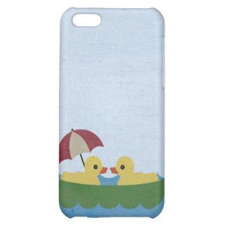 Ducks in Love in a Boat Iphone 4 Case
