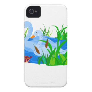 Ducks in water iPhone 4 covers