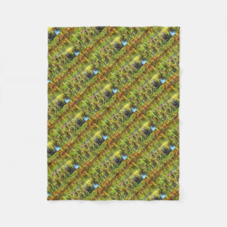 DUCKS IN WTAER AUSTRALIA ART EFFECTS FLEECE BLANKET