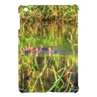 DUCKS IN WTAER AUSTRALIA ART EFFECTS iPad MINI COVERS