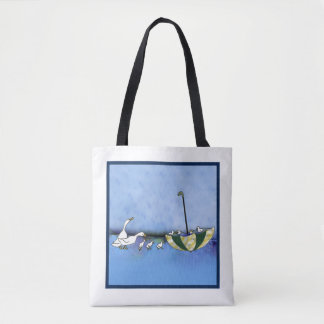 Ducks On Parade Carry-all Tote Bag