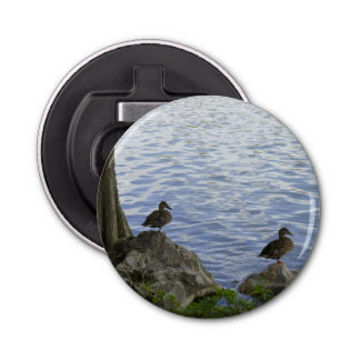 Ducks on Watch Bottle Opener