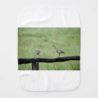DUCKS QUEENSLAND AUSTRALIA BURP CLOTH
