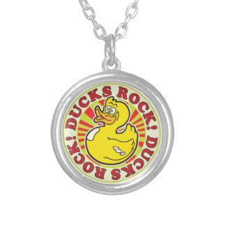 Ducks Rock Custom Necklace