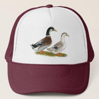 Ducks:  Silver Appleyard Trucker Hat