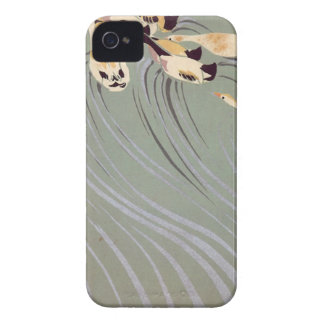 Ducks Swimming Upstream iPhone 4 Cases