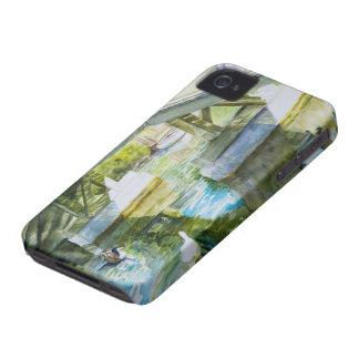 Ducks Under a bridge iPhone 4 Case-Mate Case