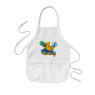 Ducky 1st Birthday Aprons