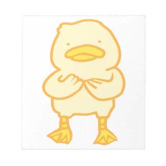 "Ducky 5.5"" x 6"" Notepad"