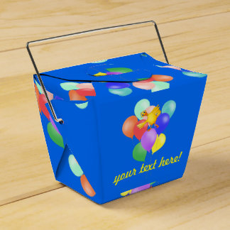 Ducky Balloon Dance by The Happy Juul Company Favour Box