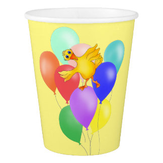 Ducky Balloon Dance by The Happy Juul Company Paper Cup