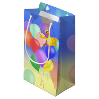 Ducky Balloon Flying by The Happy Juul Company Small Gift Bag