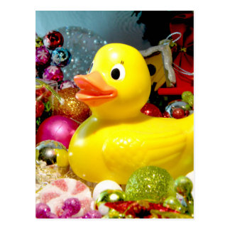 Ducky Christmas I Postcard