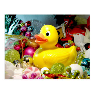 Ducky Christmas I Postcard