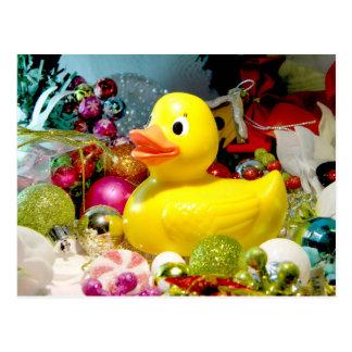 Ducky Christmas I Post Cards