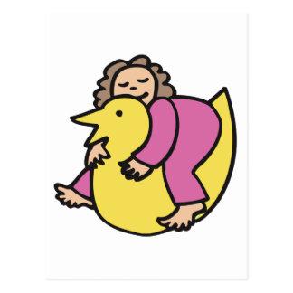Ducky Dreams Postcard