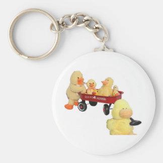 Ducky Flyer Key Chain