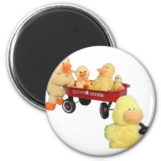 Ducky Flyer Magnet
