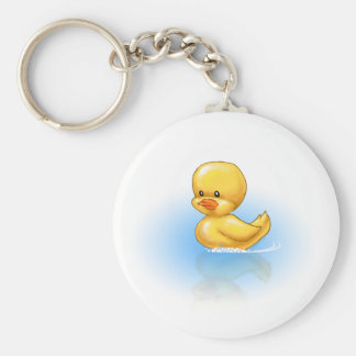 Ducky Basic Round Button Key Ring