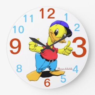 Ducky Large Clock