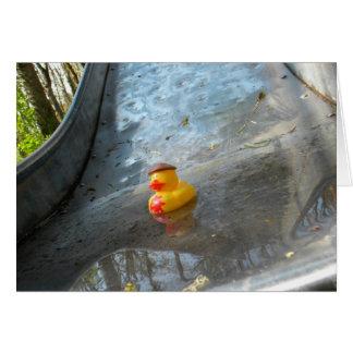 Ducky Slide Card