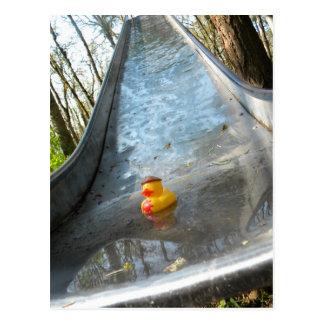 Ducky Slide Postcard