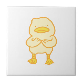 Ducky Small Square Tile